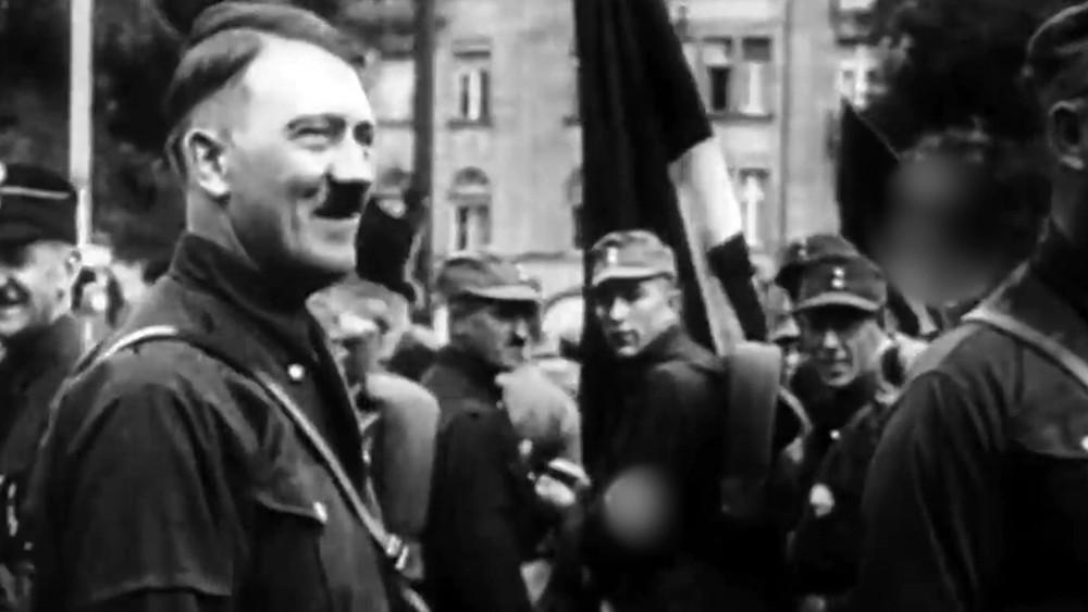 Адольф Гитлер на архивных кадрах Второй мировой войны