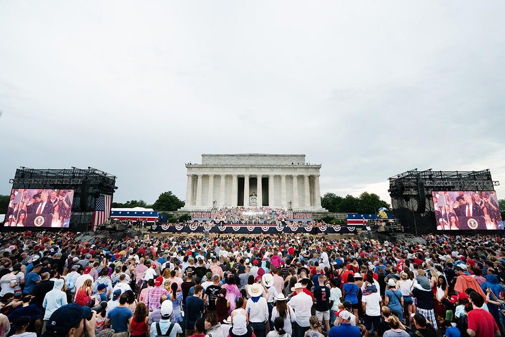 Празднование Дня независимости в США, Вашингтон