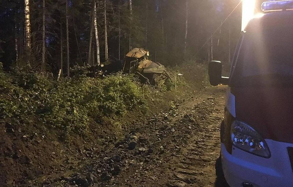 Взрыв бензовоза в Свердловской области