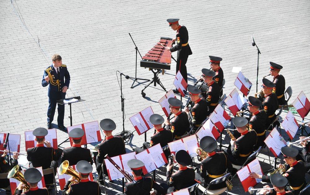 """Программа """"Военные оркестры в парках"""""""
