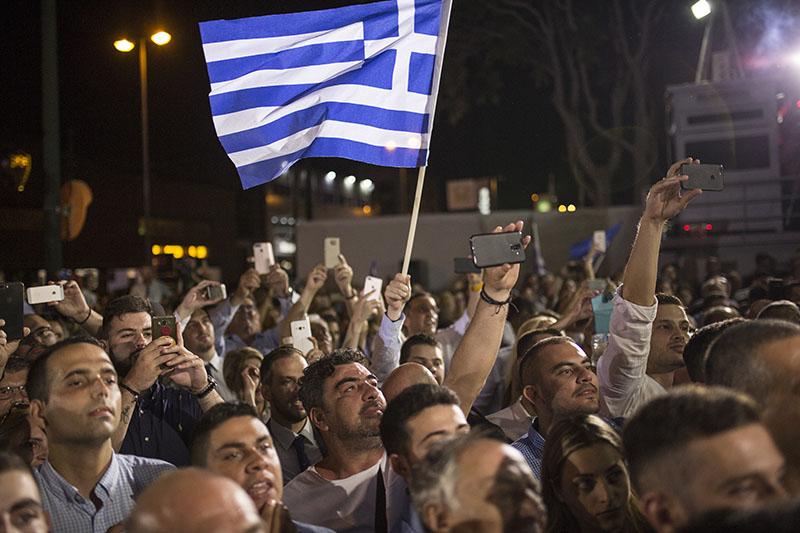 Жители Греции