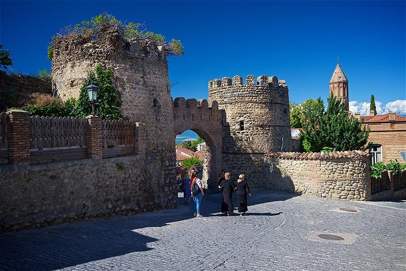 Грузия. Крепостные ворота в Сигнахи