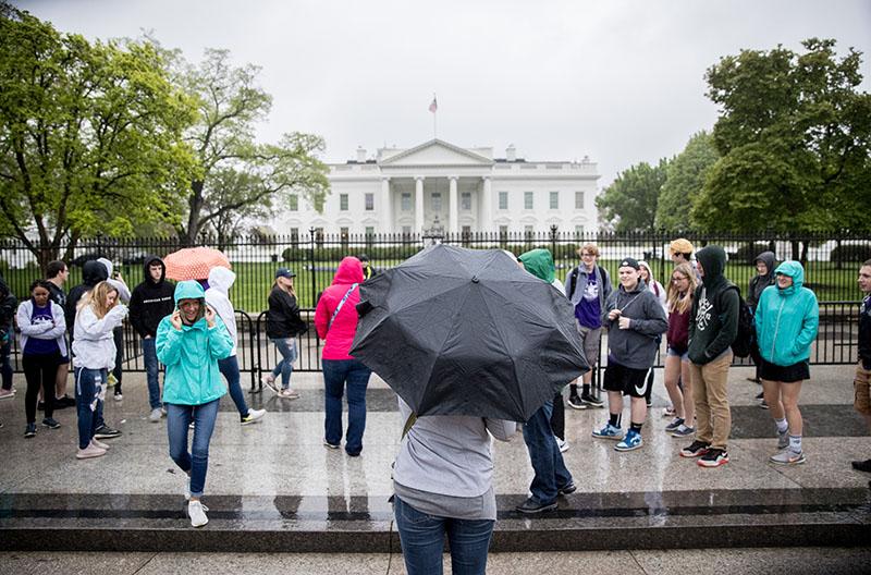 Ливень в Вашингтоне