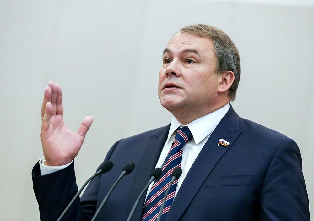 Заместитель председателя Государственной Думы РФ Петр Толстой