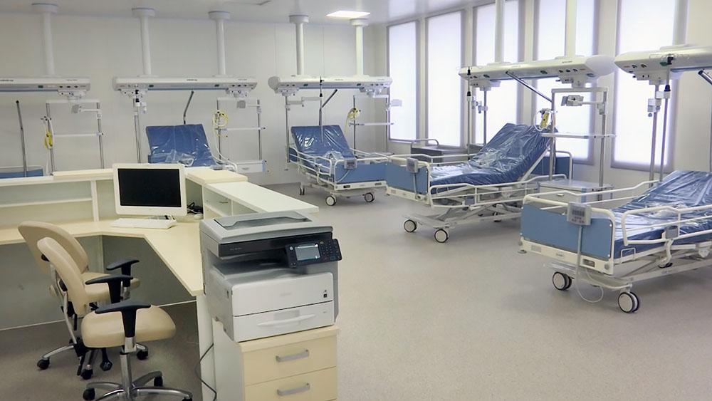 Оснащение новой больницы