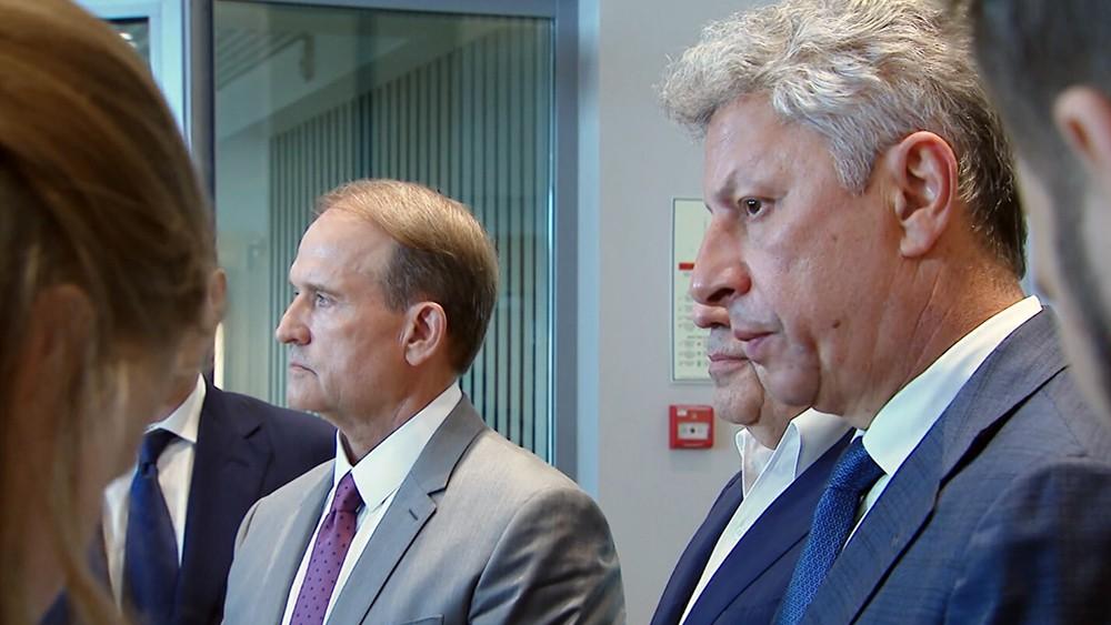 Виктор Медведчук и Юрий Бойко
