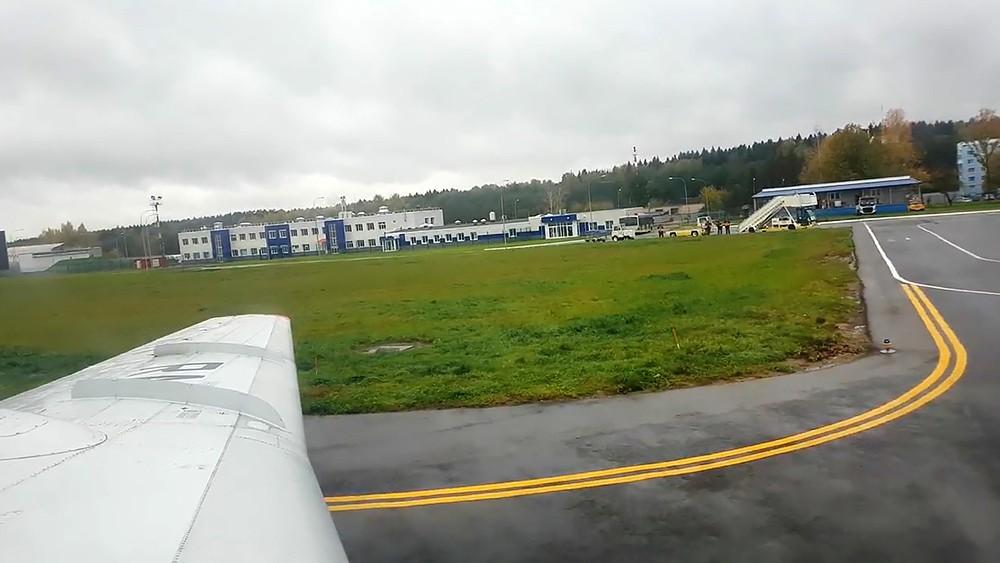Самолет в аэропорту Калуги