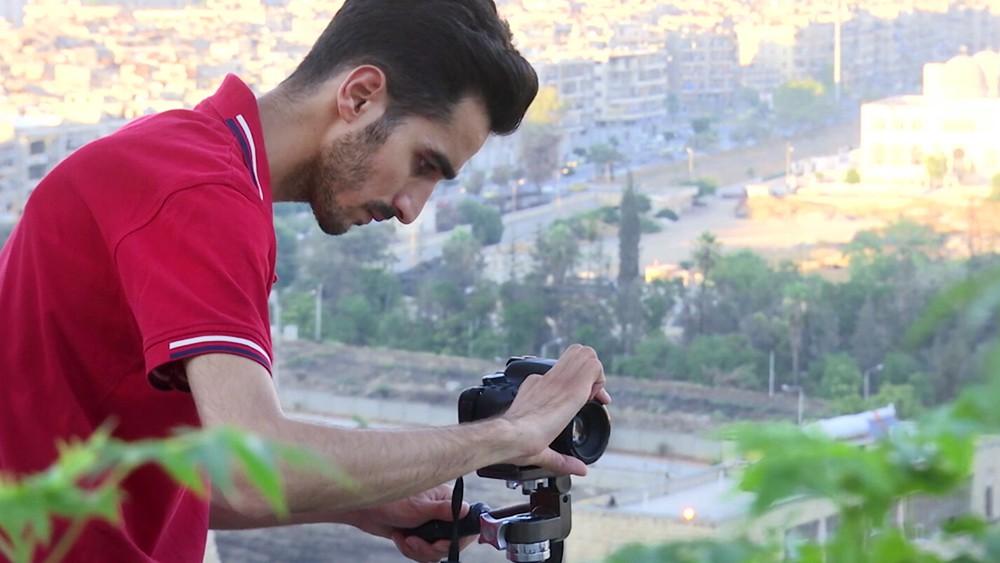 Съемки фильма в Сирии