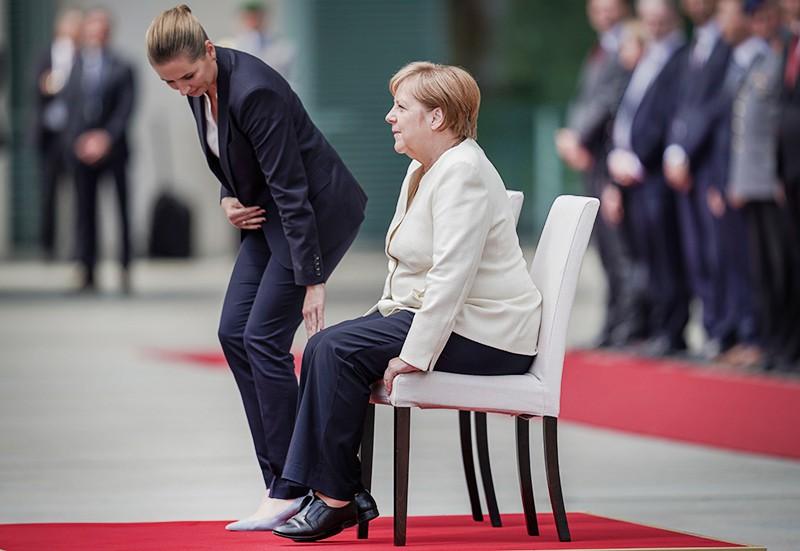 Ангела Меркель и Метте Фредериксен