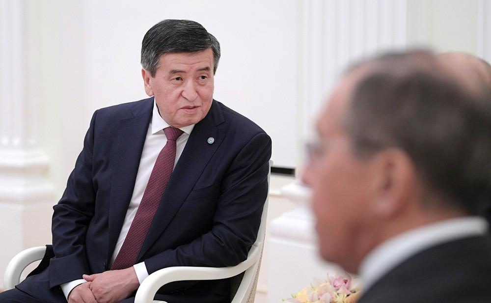 Сергей Лавров и Сооронбай Жээнбеков