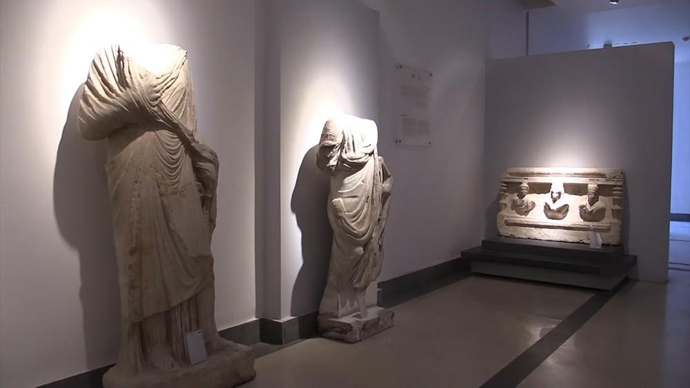 В музее Дамаска реставрируют артефакты из Пальмиры