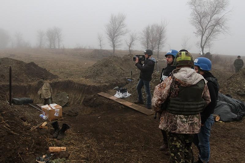 Журналисты на юго-востоке Украины