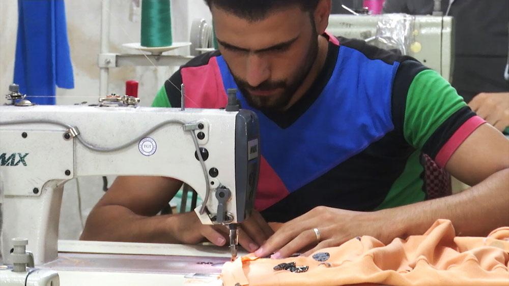 Швейная фабрика в Алеппо, Сирия