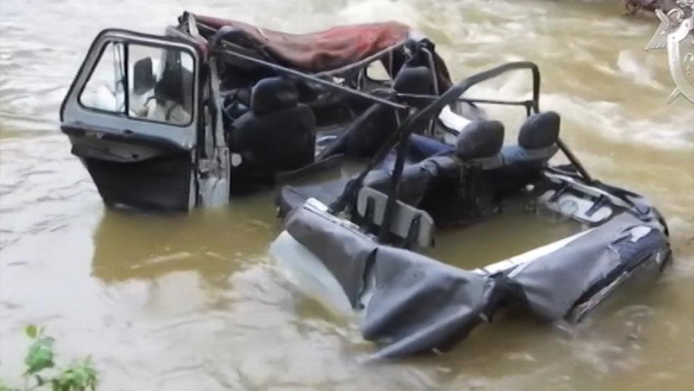 Смертельное авария в Туве