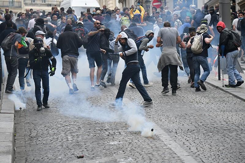 Беспорядки во Франции