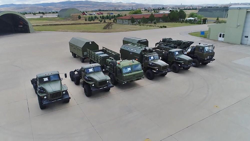 Доставленная в Турцию военная техника