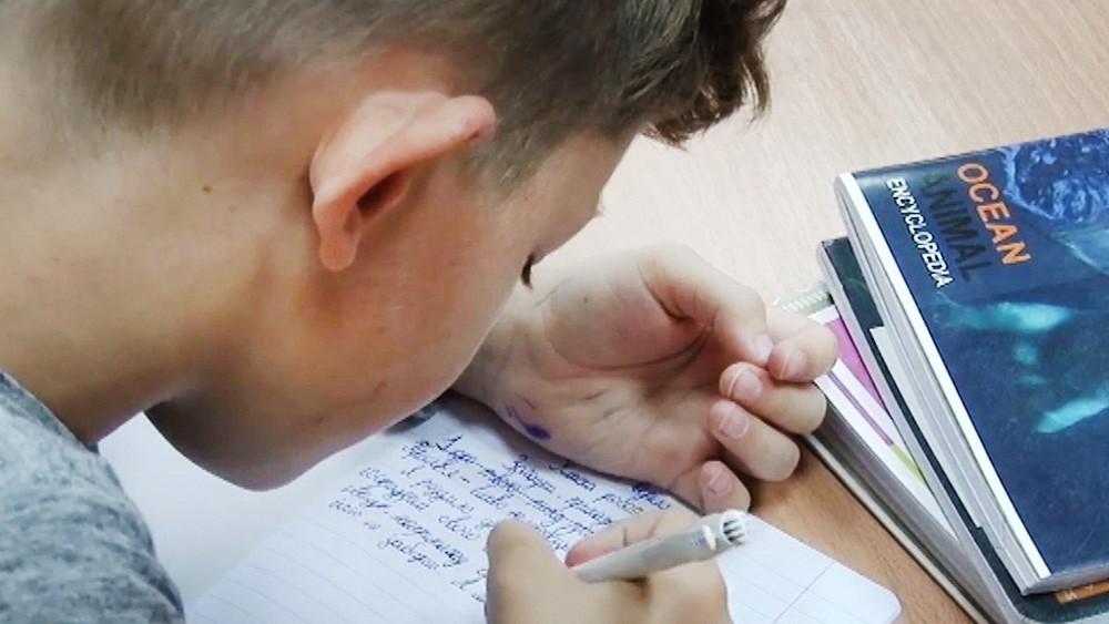 Школьники на Украине