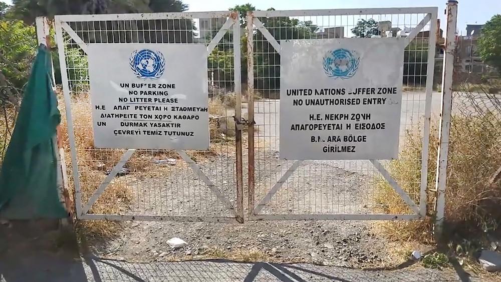 Буферная зона между Кипром и Турцией