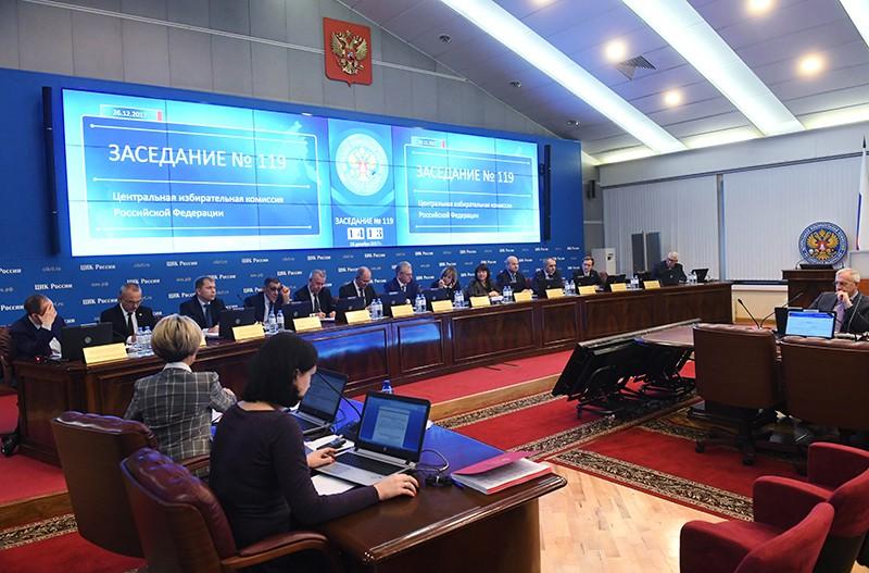 Заседание Центральной избирательной комиссии