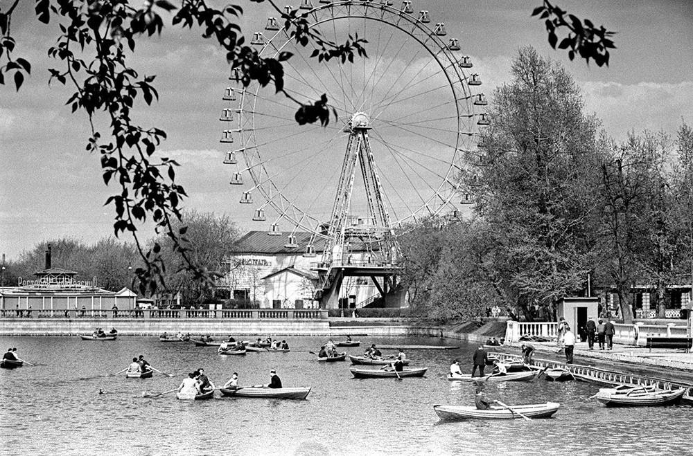 Парк Горького на старой фотографии