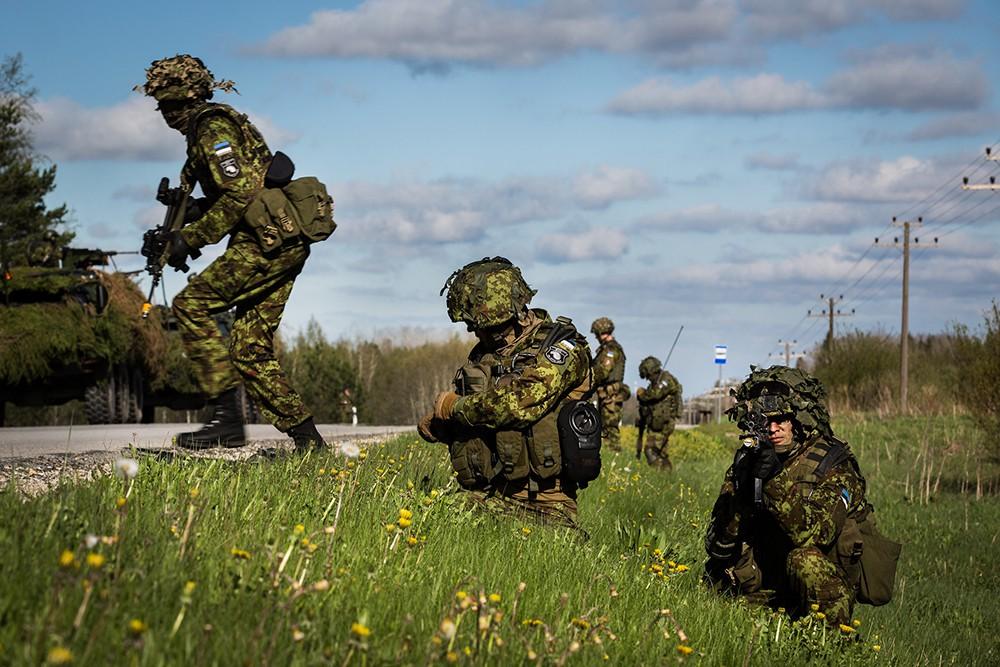 Военнослужащие армии Эстонии в системе сил НАТО
