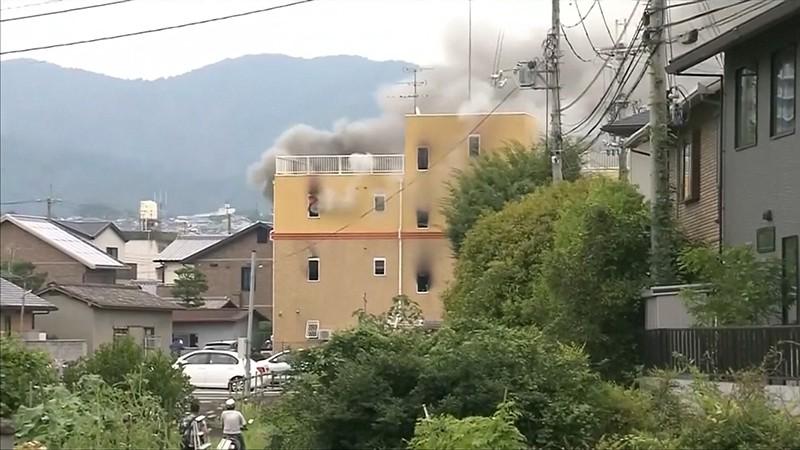 Пожар на студии аниме
