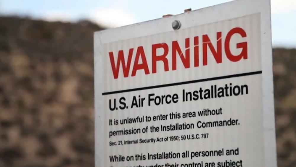 """База ВВС США в пустыне Невада """"Зона 51"""""""