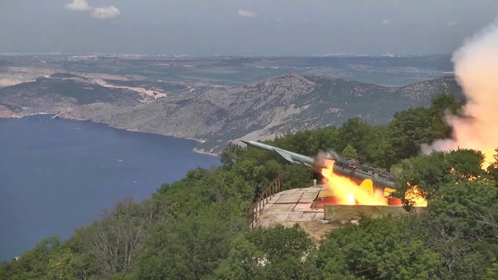 Учения в Крыму