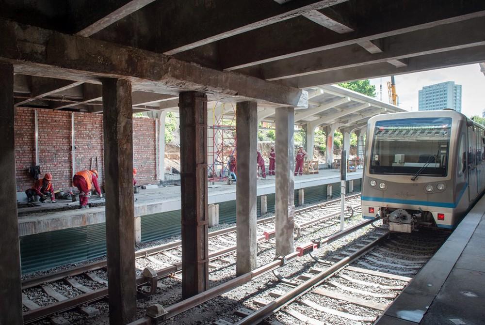 Ремонтные работы на Филевской линии метро
