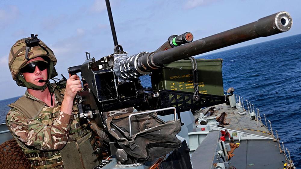 Военнослужащие ВМС Великобритании