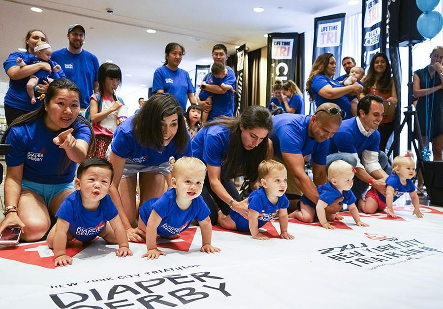 Забег младенцев в США