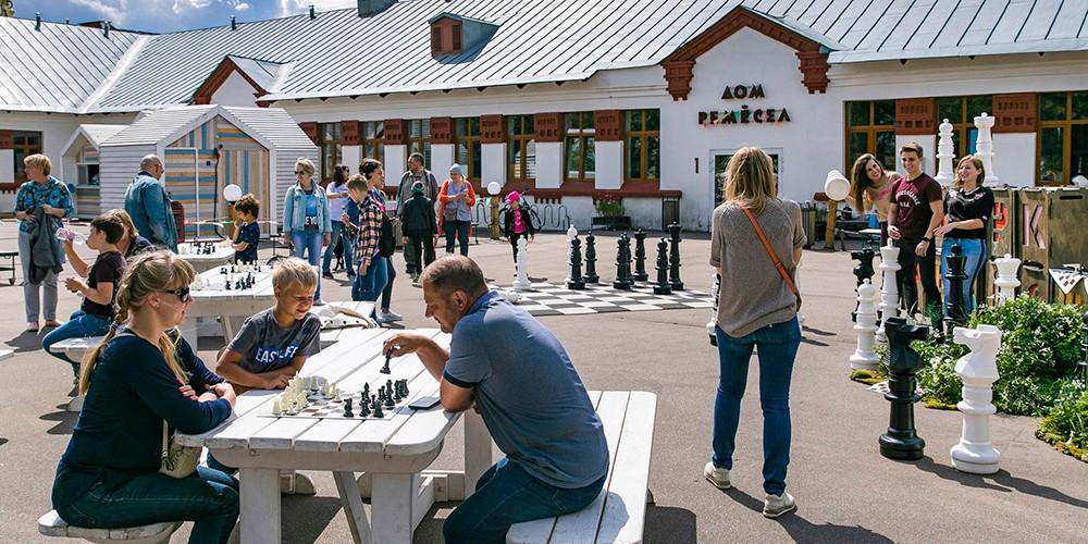 Шахматный турнир на ВДНХ