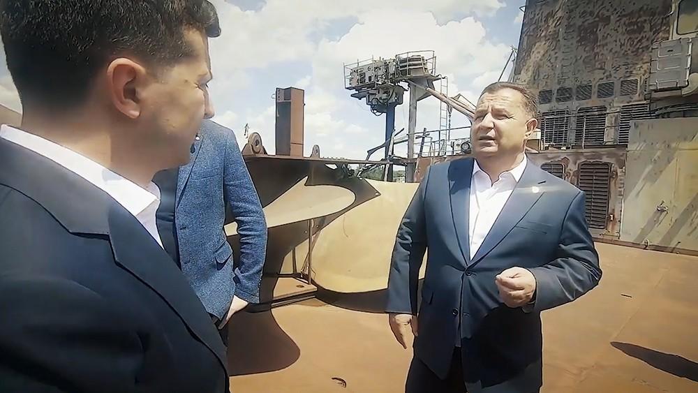 Владимир Зеленский и Степан Полторак