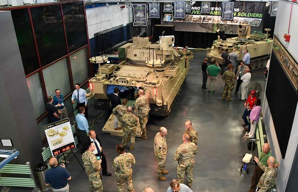 Новый специальный роботизированный комплекс (RCV) армии США