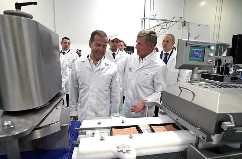 Рабочая поездка Дмитрия Медведева в Курскую область
