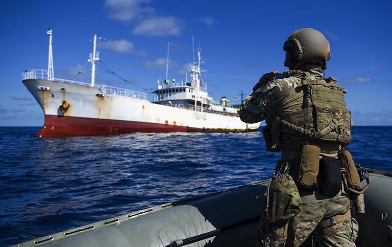 Захват рыболовного судна
