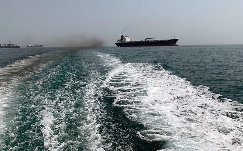 Суда в Персидском заливе