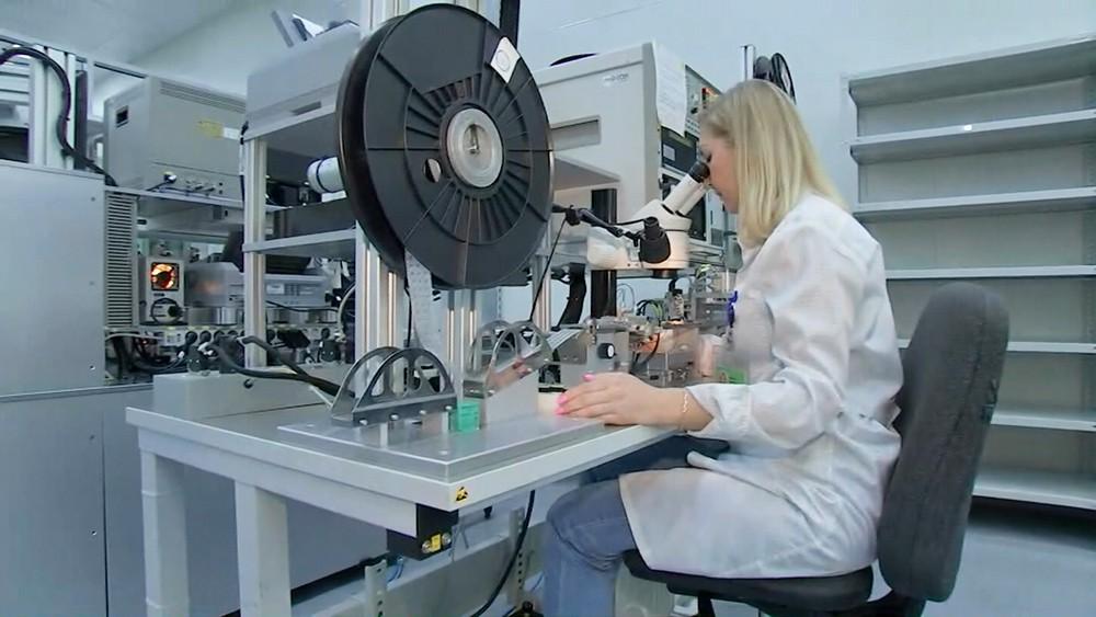 Производственный цех для создания чипов