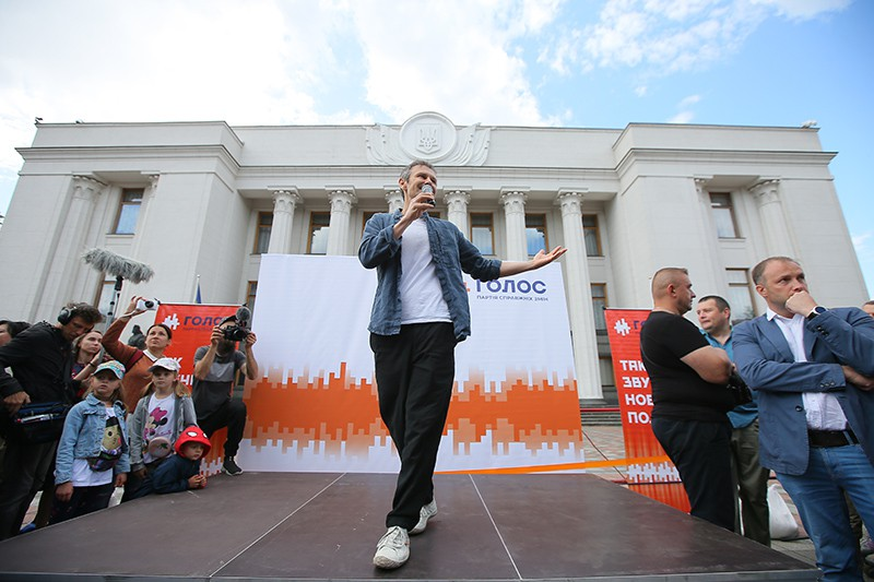 """Лидер партии """"Голос"""" и рок-группы """"Океан Эльзы"""" Святослав Вакарчук"""