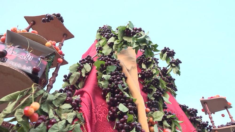 Фестиваль черешни в Сирии