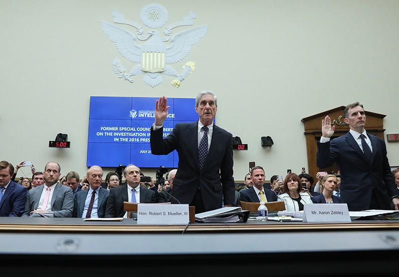 Роберт Мюллер на заседании Конгресса США