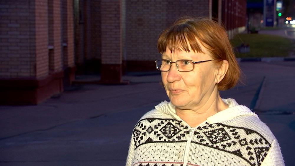 Пенсионерка Тамара Александровна