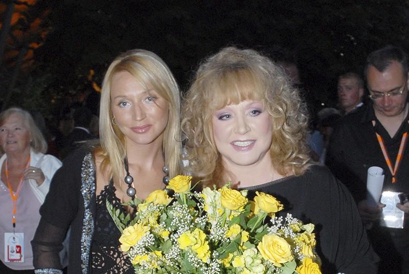 Кристина Орбакайте и Алла Пугачёва