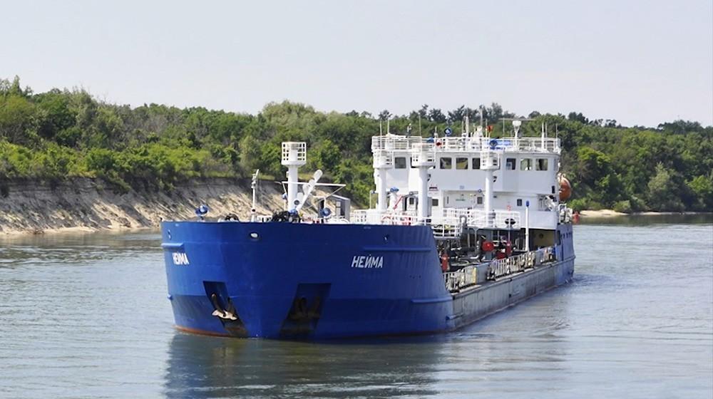 Российский танкер NEYMA