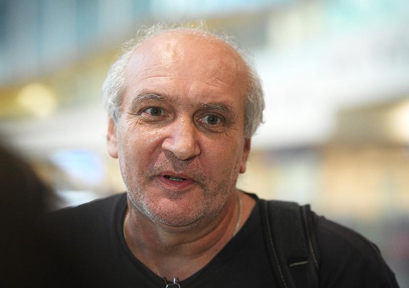 Член экипажа задержанного на Украине судна в московском аэропорту Домодедово