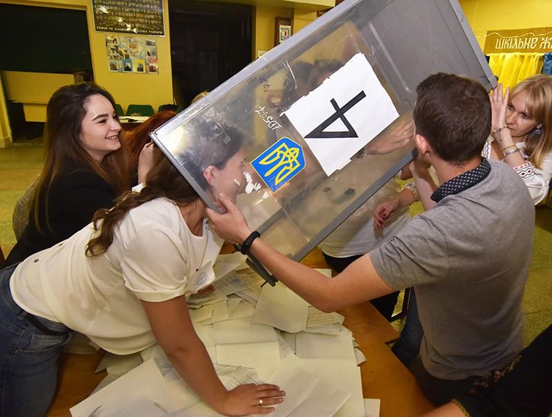 Выборы в Верховную раду Украины