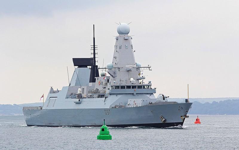 """Эсминец """"Дункан"""" ВМС Великобритании"""