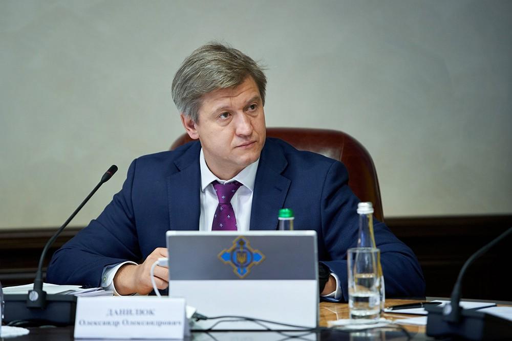 Секретарь СНБО Украины Александр Данилюк
