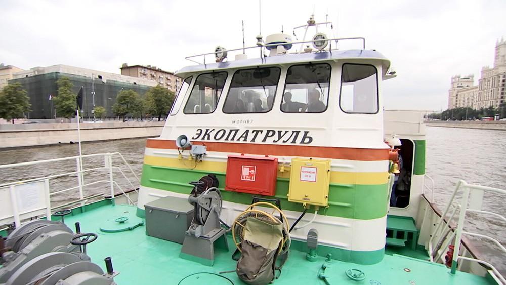 """Работа судна """"Экопатруль"""""""