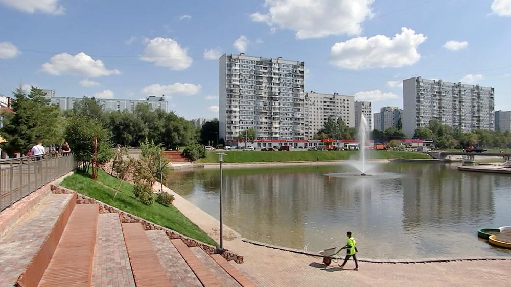 Парк в Бирюлеве-Западном (вернули!!)